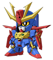 SD Gundam Tryon 3 by bryanz09
