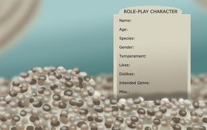 Role-Play Character Template by FaithLeafCat
