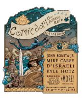 Comicdom Con 2010 poster by TheWoodenKing