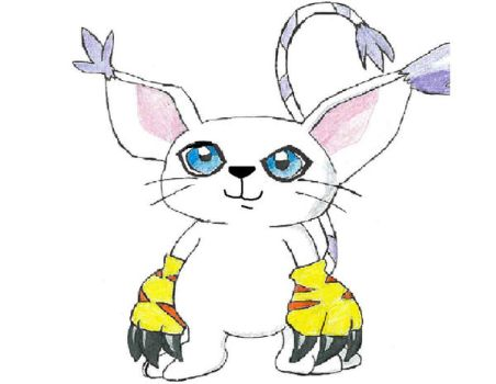 Gatomon by K3RI1