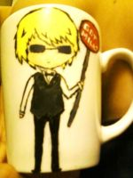 DRRR!!- Shizuo Mug by Sweet-Mint