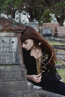 And only the graves are real by Anina-Bird