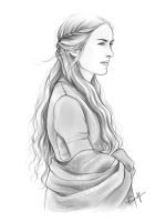 Cersei Lannister by kimpertinent