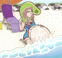 Beaching with Slimes by Oogies-wife67