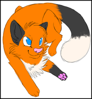 Commission: Hyper-Kitteh (2/2) by potatertots