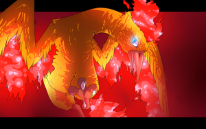 Lava Chicken by DragonicSalphe