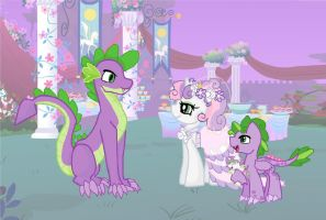 sweetiespike wedding by mississippikite