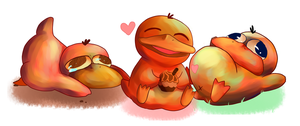 Psyducks by Ful-Fisk