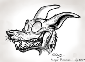 Demon in freaky detail by epesi