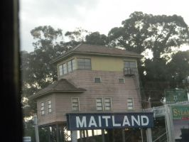 Maitland Station by Zomit