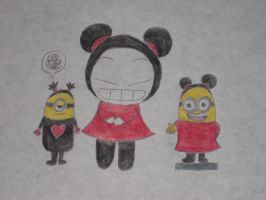 Pucca's Minions by rabbidlover01