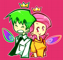 Cosmo and Wanda by Cindysuke