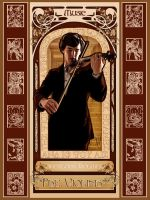 Art Nouveau Sherlock: The ViolinistV2 by Nero749