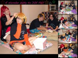 A Slumber Party to Die for by RegulusBlack