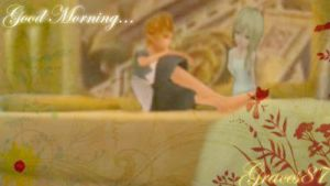 Roxas Namine good morning by Graces87