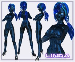 Linda the Gynoid by laughingvulcan