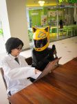 DRRR: Celty and Shinra...on a date? XD by hainrihi