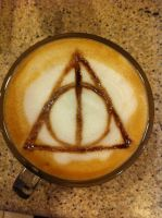 Deathly Hallows Latte by Coffee-Katie