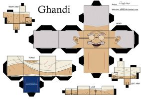 Ghandi by Cubee-acres