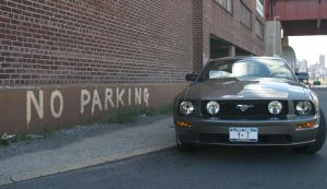 No Parking by MR614