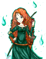 Princess Merida by Forever-Nocturne