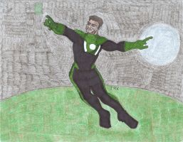 John Stewart: Green Lantern of the Mosaic by DarkKnightJRK