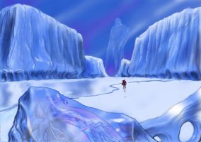 TLIID Summer vacations - Hellboy at the Antarctic by Nick-Perks