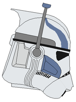 ARC trooper Echo helmet by vaderboy
