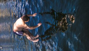 Timed Diving at Custom House Excel 2013.08.11 by TMProjection