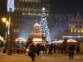 X-mas in Wroclaw by Ylvanqa