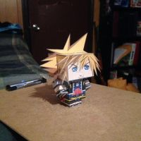 Sora CubeeCraft by SuperVegeta71290