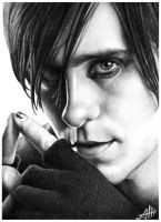 3.Jared Leto (30 Seconds to Mars) by ArtemZhuravlev