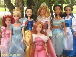 disney dolls princesses by burikatdollz