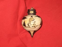 Commission:  Christmas Tree Ornament 2 by Knightmoon