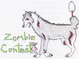 ZOMBIE CONTEST-ENTER NOW by wolfforce58