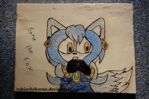 Sora Clay Plate by RubintheHorse