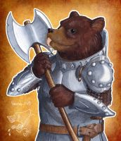 Medieval Bear by luthien368