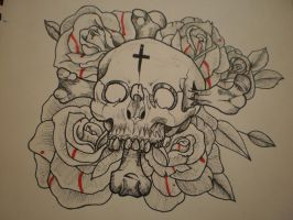 skull and rose's by terrorrising
