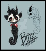 Blitz the Seahorse by kidbrainer