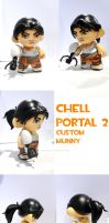 Chell - Portal 2 by FlyingSciurus