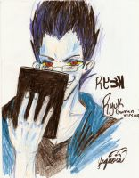 ryuk as a human -yume version by miharuyume