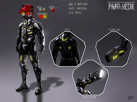 Paint Mech (Reference) by GreenFireArtist