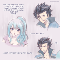I'm not your Gray-sama by Inspired-Destiny