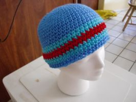 Minimalistic Megaan X Inspired Crochet Beanie by retrocrafts