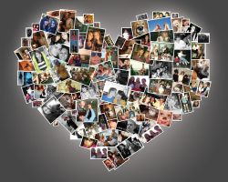 Heart Photo Collage by Alley9