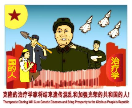 Mao Supports Stem Cells by McbobJoe