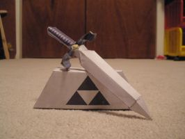 master sword 2 papercraft by pancakes-D