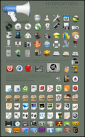 hydroxygen iconset by deviantdark