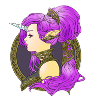 Iridae Nouveau- Colered -Lunaria by LadyLirriea