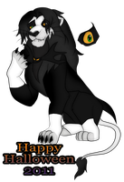 Halloween 2011: Simba Jack by Garfield141992